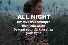 Beyoncé All Night Lemonade ✦⊱follow @badgalronnie ⊰✦