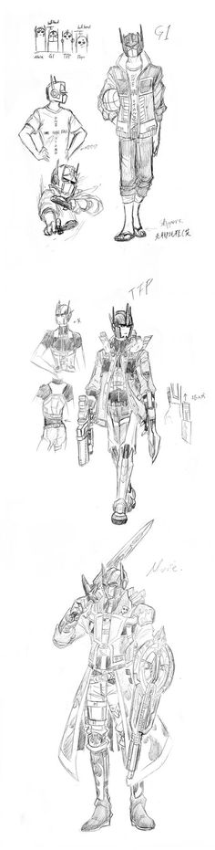 doodle or reference or what ever - G1 MOVIE TFP by Autumn123Charlotte