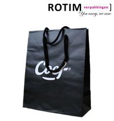 Een super mooie papieren tas van Coef een heren kleding en schoenenzaak in Nijmegen.