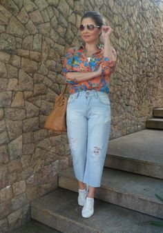 Look Casual – Pantacourt Jeans