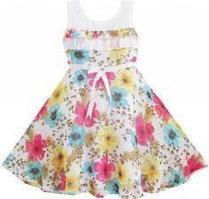 DV71 Girls Dress Chiffon Colorful Flower Party Size 4-5 Sunny Fashion,http://www.amazon.com/dp/B00EGSNFV8/ref=cm_sw_r_pi_dp_aN7ysb1YW94JNRZ8