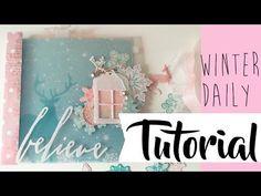 Tutorial Winter Daily, colaboración con Creavea.es - YouTube