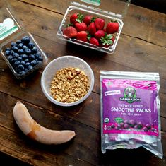 Protein Packed Acai Bowl