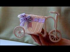 DIY декоративный велосипед своими руками - YouTube