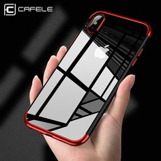 1 x Cafele New Ultra Slim Bumper Clear PC Hard Back Case Cover For iPhone X Plus (iPhone not included). Compatible with: Apple iPhone 6 / iPhone 6 Plus / iPhone 7 / iPhone 7 Plus / iPhone X / iPhone 8 / iPhone 8 Plus. Iphone 7 Plus, Iphone 8 Cases, New Iphone, Iphone 5s, Phone Case, Sony Phone, Handy Iphone, Iphone Camera, Phone Stand