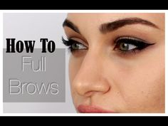All About My Brows | RubyGolani - YouTube