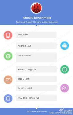 Samsung Galaxy C9 in Benchmarks aufgetaucht