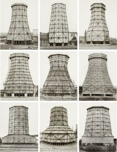 Bernd and Hilla Becher were German artists working as a collaborative duo. They are best known for their extensive series of photographic images, or typologies,