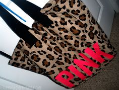 Cute tote this would be an awesome beach bag tho..
