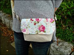 SALE 2 way bag waist pouch or sling bag by KawaiiSakuraHandmade, ¥1,500