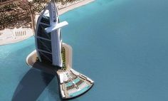 Dubai's largest hotel Burj Al Arab is to get bigger with a 10,000 square meter private deck