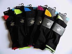 ❗ NEW LISTING 10.50 @SalesForToday Mens 6 Pack Colorful Casual Socks- Black - Shoe Sz 6-12