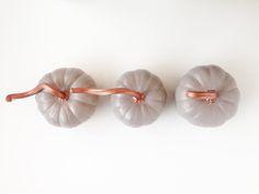 DIY Copper Pumpkin P