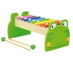 Ksylofon zabawkowy Mr. Frog