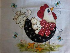 Quilt Square Patterns, Applique Quilt Patterns, Square Quilt, Chicken Quilt, Chicken Art, Chicken Crafts, Painting Patterns, Fabric Painting, Chicken Pattern