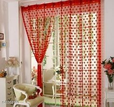 Curtains & Sheers Fashionable Net Polyester Door Curtains ( Pack Of 2 ) Material: Net Polyester Dimension ( L X W ): 7 ft x 4 ft Type: Stitched  Description: It Has 2 Pieces Of Door Curtains Work: Printed Sizes Available: 7 Feet, Free Size *Proof of Safe Delivery! Click to know on Safety Standards of Delivery Partners- https://ltl.sh/y_nZrAV3  Catalog Rating: ★3.9 (6478)  Catalog Name: Fashionable Net Polyester Door Curtains Combo Vol 1 CatalogID_466899 C54-SC1116 Code: 842-3368159-
