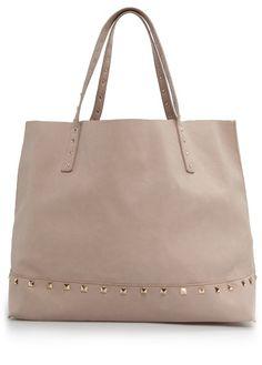Studded shopper bag from Mango