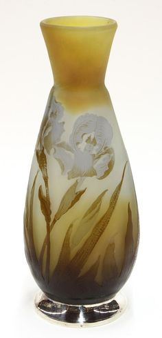 Émile Gallé | Cameo Glass Vase.