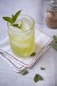Chartreuse Smash: This sweetly herbal tipple may be your new favorite.