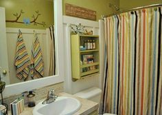 Cute spare bathroom