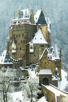 Burg Eltz castle in Germany