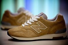 "New Balance 1400 ""Made in USA"" - Beige"