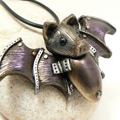 Steampunk Bat! - Fern Gully!  Ha.