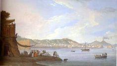 Saverio Della Gatta - Napoli dallo scoglio di Frisio a Posillipo - Napoli, collezione privata