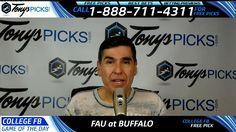 Florida Atlantic vs. Buffalo Bulls Free NCAA Football Picks and Predicti...