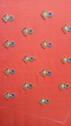 Best 11 Sudhasri hemaswardrobe – Page 539095017895060276 – SkillOfKing. Simple Embroidery Designs, Simple Blouse Designs, Bead Embroidery Patterns, Dress Neck Designs, Sleeve Designs, Beaded Embroidery, Wedding Saree Blouse Designs, Silk Saree Blouse Designs, Saree Tassels Designs