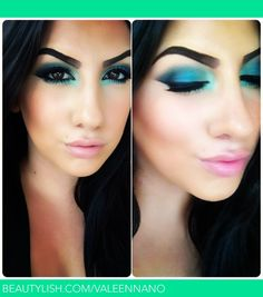 Dramatic Teal | Valeen N.'s (ValeenNano) Photo | Beautylish