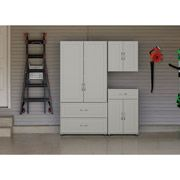 Systembuild 2 Drawer Door Utility Storage Cabinet White 7364401pcom Drawers And