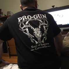 Customer Photo: Pro-Gun. Hunter-Sportsman. T-shirt. #Customer #Customerlove #Customerphoto #Sonsoflibertytees #Weloveourcustomers