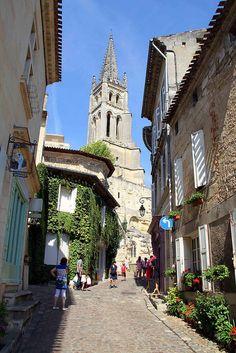 Saint-Emilion, Bordeaux, France