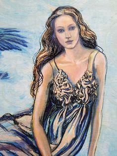 J.Piačkova, ink and acrylic