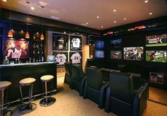 Ultimate Freaking Man Cave!!!