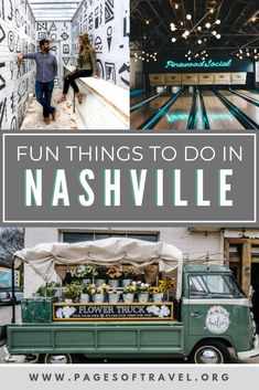 Welcome to Music City, where country music thrives and live music plays nearly every night. But there is more to Nashville than just the honky-tonks. Check out these fun things to do in Nashville, Tennessee that are perfect for a weekend in Nashville. Girls Trip Nashville, Weekend In Nashville, Nashville Vacation, Visit Nashville, Tennessee Vacation, Shopping In Nashville, Nashville Tennessee Hotels, Nashville Must Do, Nashville Things To Do