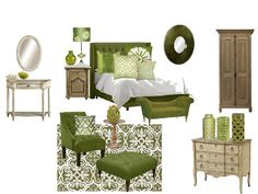 Green Bedroom Bedrooms Blue Rooms Ideas