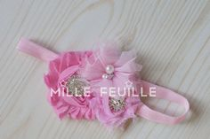 Hey, I found this really awesome Etsy listing at https://www.etsy.com/listing/161746358/crystal-flower-headband-for-newborn-baby