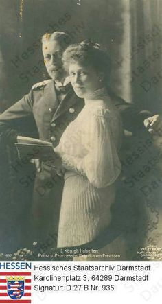 Prince Henry and Princess Irene in later years