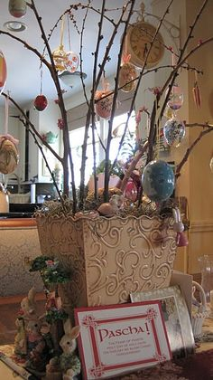 Pascha (Easter) Egg Tree.