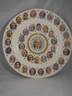 Plate Presidents of the US Gerald Ford