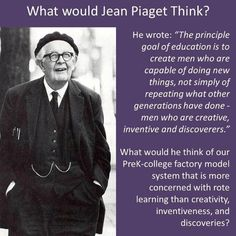 piaget theory of constructivism in education pdf