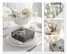 tropical themed table decor - Google Search