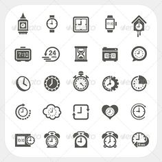 Realistic Graphic DOWNLOAD (.ai, .psd) :: http://jquery.re/pinterest-itmid-1008530194i.html ... Clock Icons Set ...  alarm, black, blackboard, board, circle, clock, digital, equipment, face, gear, hour, icons, information, instrument, interface, measurement, minutes, pictogram, seconds, sign, silhouettes, stopwatch, time, watch  ... Realistic Photo Graphic Print Obejct Business Web Elements Illustration Design Templates ... DOWNLOAD :: http://jquery.re/pinterest-itmid-1008530194i.html