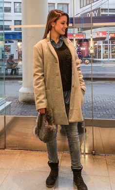 Outfit der Woche! Pullover & Bluse: Liebeskind – Jacke – Tom Tailor Denim: Jacke & Mütze: Opus #ootw #fashion