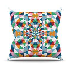 """Project M """"Modern Day"""" Throw Pillow   KESS InHouse"""