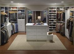 walk-in closet, i want one