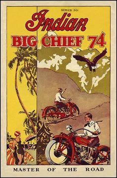 "1928 Indian Big Chief 74"""