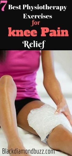 Knee pain: 7 Best Physical Therapy Exercises for Knee Pain Relief - Are you suffering from knee joint pain? And you want to make your knee stronger? Here are the easy stretches and exercises you can do anywhere (home and office) for complete pain relief. Rheumatoid Arthritis Treatment, Knee Arthritis, Arthritis Remedies, Knee Pain Exercises, Easy Stretches, Knee Physical Therapy Exercises, Physical Exercise, Exercises For Arthritic Knees, Nba